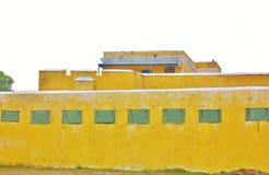 Le fort christiansted des échappatoires d'usvi de croix de St pour des armes à feu Photo libre de droits
