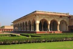 Le fort d'Agra image libre de droits