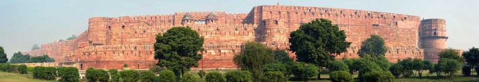 Le fort d'Agra Photos stock