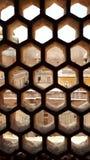 Le fort d'?gr? est un site de patrimoine mondial de l'UNESCO ? ?gr? Inde, conception int?rieure, architecture mughal photo stock