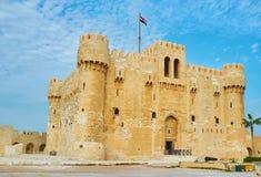 Le fort de l'Alexandrie, Egypte photos stock