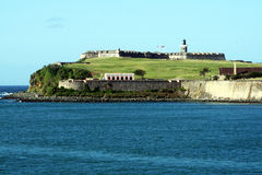 Le fort de San Felipe Photo stock