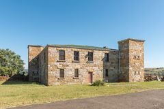 Le fort historique Durnford dans Estcourt sert de musée Image libre de droits