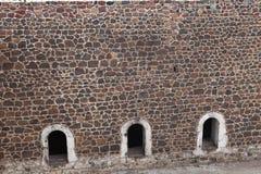 Le fort III d'Aziziye dans Erzurum, Turquie Photographie stock libre de droits