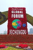 2013 le forum global de fortune à Chengdu Image stock