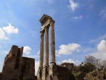 Le forum romain Photo libre de droits