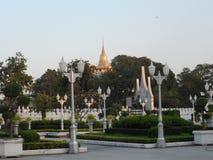 Le foto del parco del giardino a Bangkok, Tailandia là sono molti posti interessanti sia tailandesi che turisti stranieri Venga a immagini stock