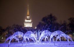 Le fouillumination de Noël Image stock