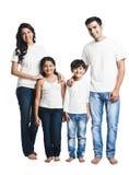 Le för familj Arkivfoto