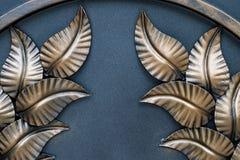Le fragment des produits métalliques forgés Plan rapproché Images libres de droits