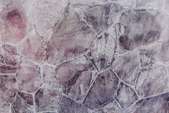 Le fragment du stuc créatif est fait Photo libre de droits