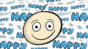 Le framsidan mot lycklig baksida arkivfilmer