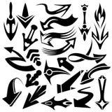 Le frecce dell'indicatore hanno impostato royalty illustrazione gratis
