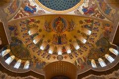 le fresque de la chambre forte du St maritime Nicholas Cathedral Image libre de droits