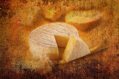 Le fromage a découpé en tranches Photographie stock libre de droits