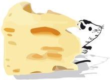 Le fromage a servi d'apéritif illustration libre de droits