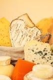 le fromage tape divers Photographie stock libre de droits