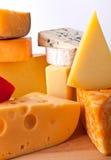 le fromage tape divers Images libres de droits