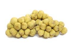 Le fruit délicieux de Wollongong ou le fruit de Longkong ou le parasiticum de Lansium est fruit tropical en Asie du Sud-Est image stock