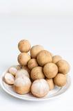 Le fruit de Langsat est un fruit de l'Asie du Sud-Est. Images libres de droits