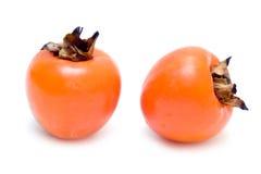 Le fruit de Sharon a isolé Photo stock