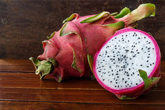 le fruit est appel le dragonfruit, Images libres de droits