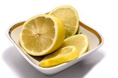Le fruit jaune Images libres de droits