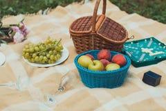 Le fruit sur la couverture photo stock
