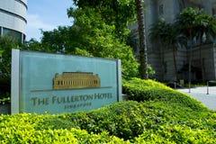 Le Fullerton que l'h?tel est un h?tel de luxe cinq ?toiles s'est ouvert en 1928 photos libres de droits