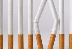 Le fumage est une prison dont vous pouvez quitter Photographie stock libre de droits