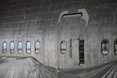 Le fuselage de Boeing 747 photographie stock libre de droits
