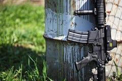 Le fusil noir Photos stock