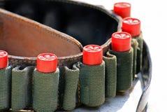 Le fusil rouge de balles Photographie stock