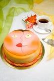 Le gâteau de l'amoureux Photos stock