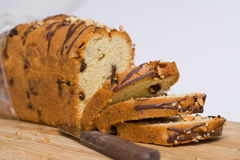 Le gâteau fait maison a fait cuire au four Image stock