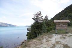 Le Général Carrera Lake, Chili Photo libre de droits