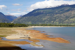 Le Général Carrera Lake, Chili Photo stock