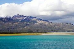 Le Général Carrera Lake dans le Patagonia, Chili Images stock