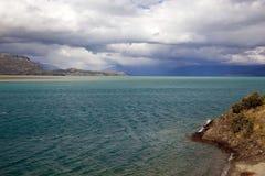 Le Général Carrera Lake dans le Patagonia, Chili Photo libre de droits