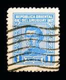 Le Général Jose Artigas, serie, vers 1939 Photographie stock libre de droits