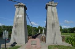 Le Général le doyen pont suspendu Photo libre de droits