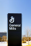 Le Général Mills Corporate Headquarters et signe Image stock