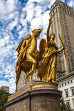 Le Général William Tecumseh Sherman Monument à New York images stock
