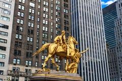 Le Général William Tecumseh Sherman Monument à New York Photo libre de droits