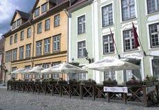 Le Górska chata restauracja w Starym Tallinn Fotografia Royalty Free