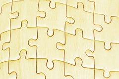 Le gabarit a vu des puzzles Image stock