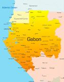 Le Gabon Photo stock
