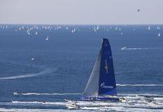Le gagnant du regatta 2010 de Barcolana Photographie stock