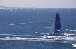 Le gagnant du regatta 2010 de Barcolana Images stock