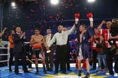 Le gala de boxe d'Invincibles 6 Photos libres de droits
